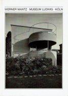 Werner Mantz. <br>Architekturphotographie in Köln. 1926-1932 <br>ヴェルナー・マンツ <br>図録