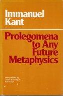 Prolegomena to Any Future Metaphysics <br>Immanuel Kant <br>英)プロレゴメナ <br>カント