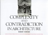 Complexity and Contradiction in Architecture <br>Robert Venturi <br>ロバート・ヴェンチューリ