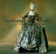 La Mode En France 1715-1815: <br>De Louis XV a Napolean I <br>仏)1715-1815年フランスのファッション