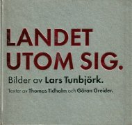 LANDET UTOM SIG <br>Country Beside Itself <br>Lars Tunbjork <br>ラーシュ・ツンビヨルク