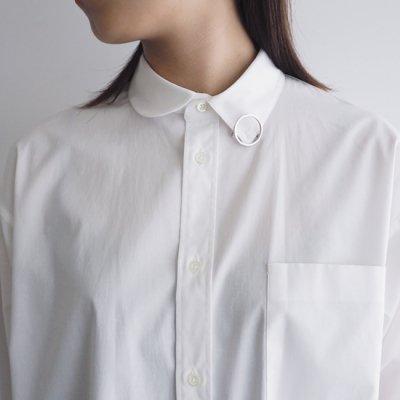08sircus Cotton broad asymmetric shirt アシンメトリックシャツ<img class='new_mark_img2' src='https://img.shop-pro.jp/img/new/icons8.gif' style='border:none;display:inline;margin:0px;padding:0px;width:auto;' />