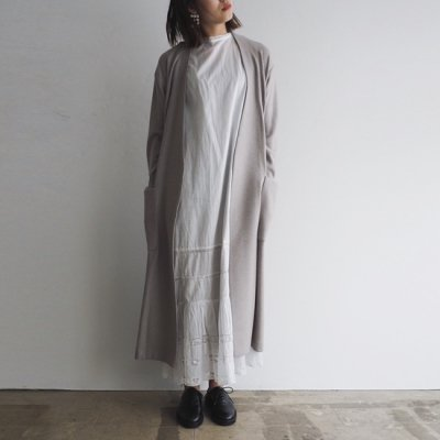 <img class='new_mark_img1' src='https://img.shop-pro.jp/img/new/icons20.gif' style='border:none;display:inline;margin:0px;padding:0px;width:auto;' />08sircus Super140's Jacquard coat ジャガードコート