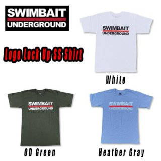 SWIMBAIT UNDERGROUND Logo Lock Up Tシャツ<img class='new_mark_img2' src='https://img.shop-pro.jp/img/new/icons1.gif' style='border:none;display:inline;margin:0px;padding:0px;width:auto;' />