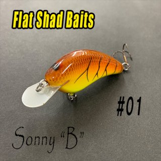 Flat Shad Baits/Sonny B<img class='new_mark_img2' src='https://img.shop-pro.jp/img/new/icons25.gif' style='border:none;display:inline;margin:0px;padding:0px;width:auto;' />
