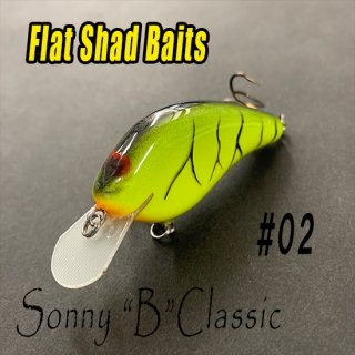 Flat Shad Baits/Sonny B Classicモデル<img class='new_mark_img2' src='https://img.shop-pro.jp/img/new/icons25.gif' style='border:none;display:inline;margin:0px;padding:0px;width:auto;' />