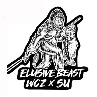 WCZ X SU Elusive Beast Die Cut Sticker<img class='new_mark_img2' src='https://img.shop-pro.jp/img/new/icons1.gif' style='border:none;display:inline;margin:0px;padding:0px;width:auto;' />
