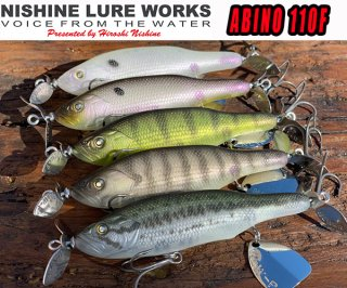 NISHINE LURE WORKS ABINO110F<img class='new_mark_img2' src='https://img.shop-pro.jp/img/new/icons1.gif' style='border:none;display:inline;margin:0px;padding:0px;width:auto;' />