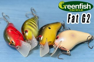 Greenfish Tackle /Fat G2 Squarebill Crankbait<img class='new_mark_img2' src='https://img.shop-pro.jp/img/new/icons25.gif' style='border:none;display:inline;margin:0px;padding:0px;width:auto;' />