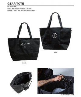 ELECTRIC/GEAR TOTE<img class='new_mark_img2' src='https://img.shop-pro.jp/img/new/icons1.gif' style='border:none;display:inline;margin:0px;padding:0px;width:auto;' />