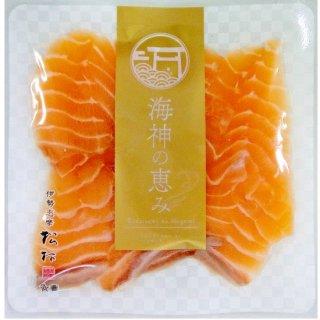 【冷凍】サーモン丼(具材)10切、わさび、特製タレ付き