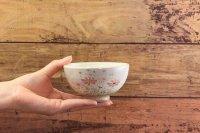 じゅん陶房 色絵粉引飯碗(小)