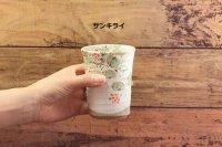 じゅん陶房 色絵粉引フリーカップ