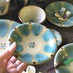ノモ陶器製作所 4寸皿(やちむん)