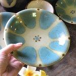 ノモ陶器製作所 6寸皿(やちむん)