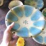 ノモ陶器製作所 7寸皿(やちむん)