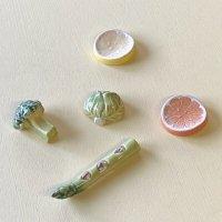 ハンドメイド箸置き  野菜・果物シリーズ