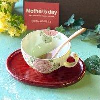 母の日ギフトに☆粉引のスープカップ癒しBOX