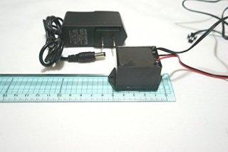 ELインバーター 400㎠用 IN-PUT12V ACアダプター付き
