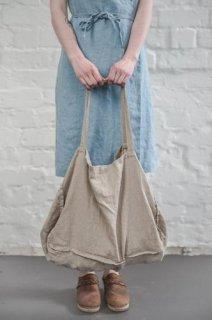 【ネコポス送料無料】not PERFECT LINEN | LARGE LINEN TOTE BAG (natural) | トートバッグ