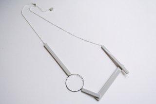 ilocami | BLOCK NECKLACE (gray) | ネックレス