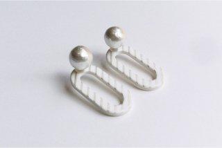 ilocami | CLIP PIERCE (white) | ピアス