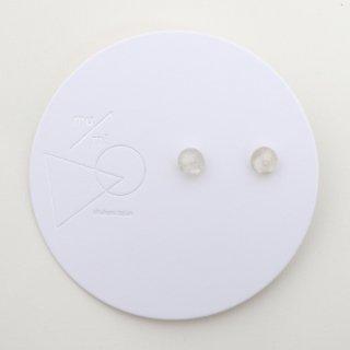 mu/mi | 浮遊ピアスS (white) | ピアス
