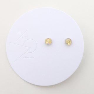 mu/mi | 浮遊ピアスS (gold) | ピアス