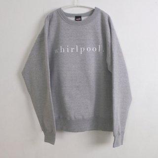 school | whirlpool SWEATSHIRT (heather grey) | 裏起毛スウェット
