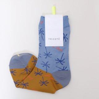 Tricote   PALM TREEソックス (blue)   ソックス