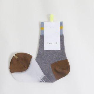 Tricote   ラインラメソックス (gray)   ソックス