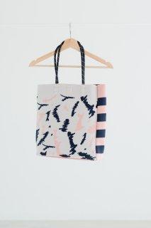 Tricote   ペイントニットバッグ (pink)   バッグ