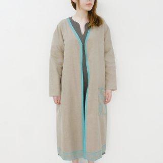 canako inoue | 「祈り」羽織 (beige green) | 羽織