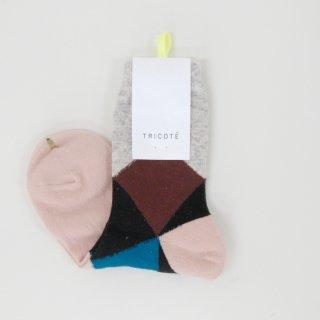 Tricote   ダイヤソックス (pink)   ソックス