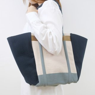 Tricote   ゴムベルトトート (beige)   バッグ