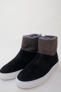 Dell' Arte (デラールテ) | mouton sneaker boots (black) | スニーカーブーツ 38 (24cm)