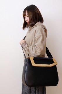 yuruku (ユルク) | Metry Bag M (black) | バッグ