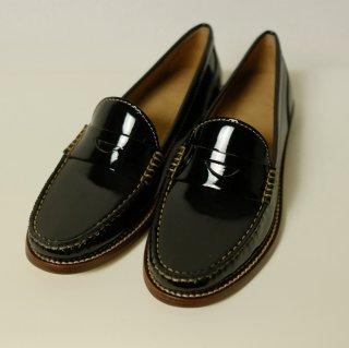 WIRTH | leather loafer (black) | ローファー 38 (23.5-24cm)