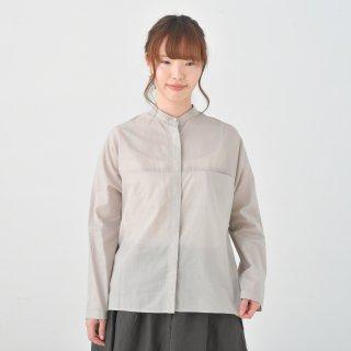 STAMP AND DIARY    ドルマンスリープヒヨクシャツ (greybeige)   トップス