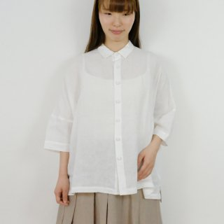STAMP AND DIARY   ビッグブラウス (offwhite)   トップス