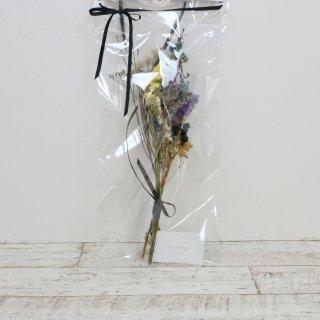 song of flowers   dryedflower swag (blue #1)   ドライフラワー Mサイズ
