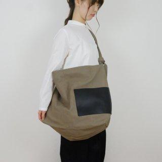 yuruku (ユルク) | Side Poket Shoulder Bag (gray) | バッグ
