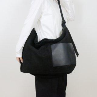 yuruku (ユルク) | Side Poket Shoulder Bag (black) | バッグ