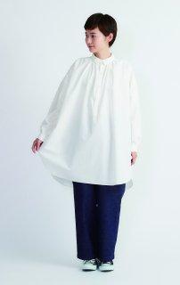 Cion | コットンオーバーシャツ (ホワイト) | トップス