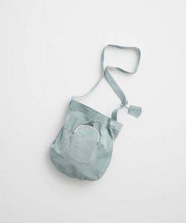 REN | ライニングスエード・ガマグチポケットショルダー (iceblue) | バッグ