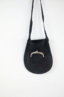 REN | ライニングスエード・ガマグチポケットショルダー (black) | バッグ