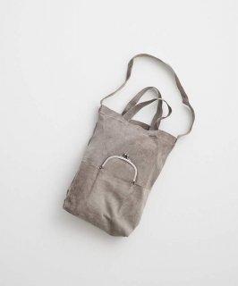 REN | ライニングスエード・ガマグチポケット2wayトート (stonebeige) | バッグ