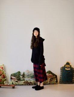 STORAMA | Mohair Knit Parka (black) | サイズXS