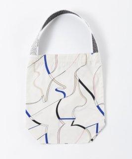 Tricote | カットリボントートバッグ (white) | バッグ【オシャレ カジュアル レディース お出かけ】