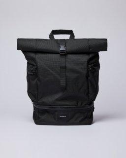 SANDQVIST | VERNER (black) | バッグ【北欧 シンプル スウェーデン リュック】